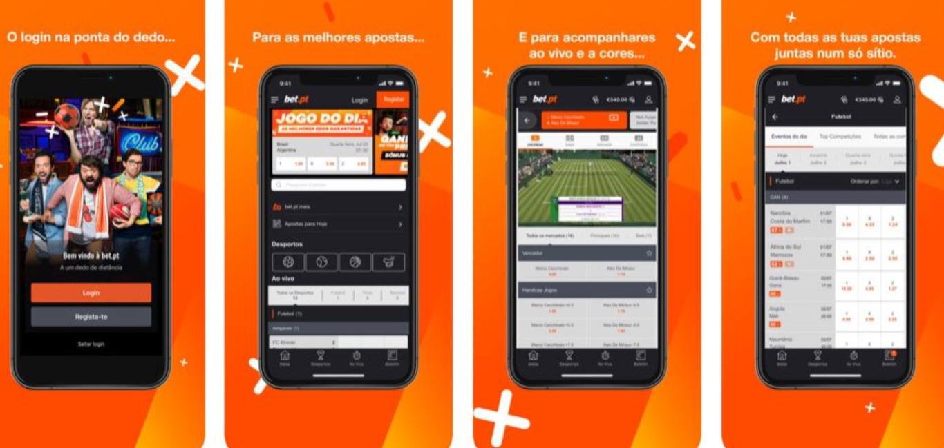 Bet.pt mobile app: uma experiência completa