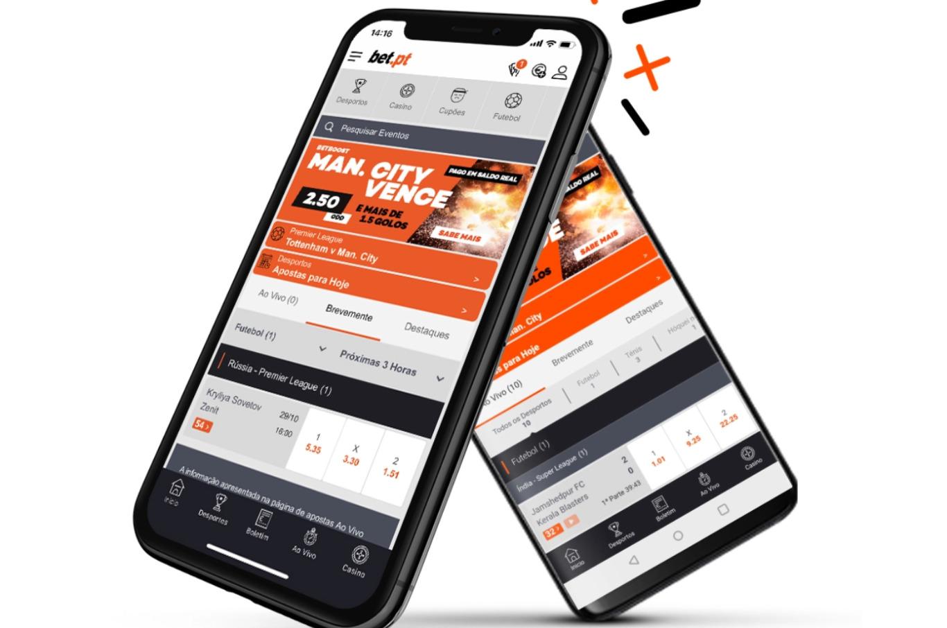 Bet.pt app: todas as vantagens no seu bolso